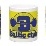 Baltic Club Mugg gulblå