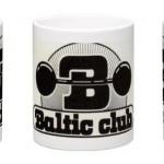 Baltic Club Mugg svarvit