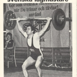 RÖRANDE NYA KRAFTSPORT 1980 NR 4-Baltic Club SM segrare