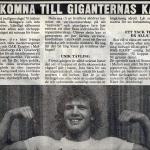 Giganternas kamp,programtidningen 3