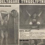 Giganternas kamp,programtidningen 21