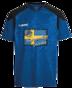 Sweden T-shirt Blå - T-Shirt Blå Sweden - Storlek 176