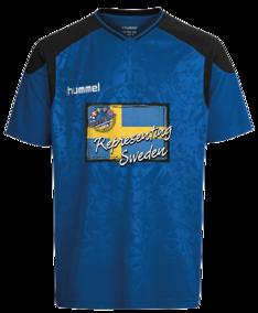 Sweden T-shirt Blå - T-Shirt Blå Sweden - Storlek XXL