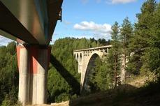 Tallbergsbroarna.underifrån.Silva Danielsson