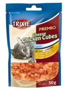 PREMIO Cheese Chicken Cubes, 50 g