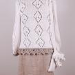 Cloetta handgjord tröja - Tröja Cloetta Vit/beige