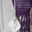 Daniella - Daniella handgjord klänning, plommon