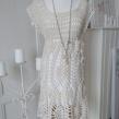 Daniella - Daniella handgjord klänning, offwhite