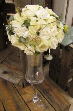 Munkeröds florist brudbukett