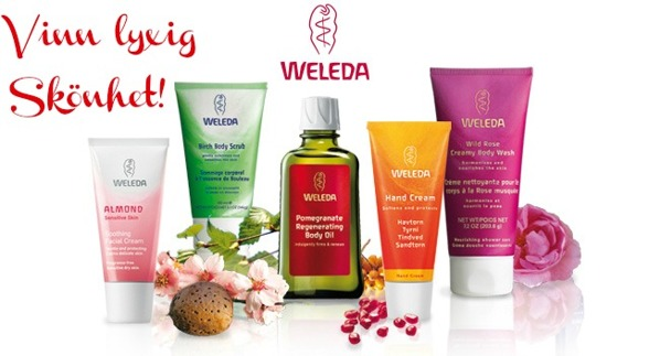 Vinn ekologisk hudvård från Weleda