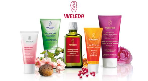 Vinn hudvård från Weleda