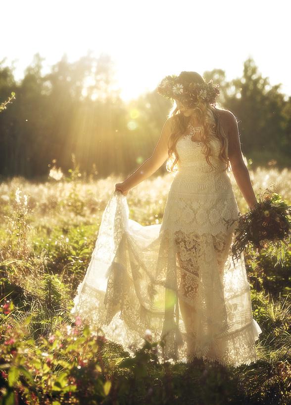 ekologisk brudklänning