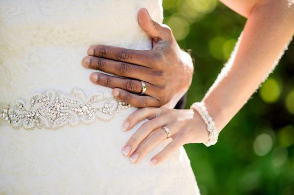 Ringar, Linn & Mattias bröllop Fotograf: Malin Sydne