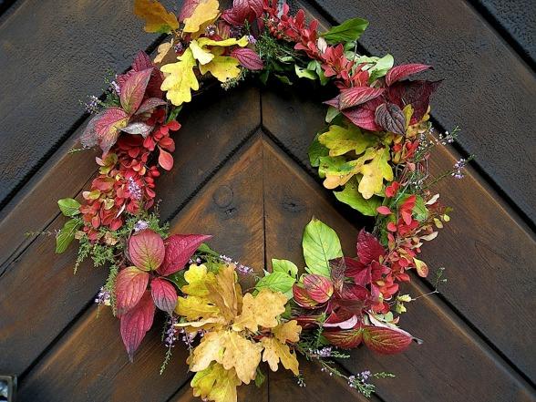 Foto: Pixabay. Krans av höstlov, Löv, Höst
