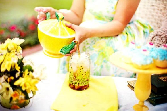 Afternoon tea bröllop