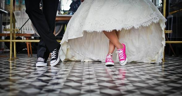 bröllop converse