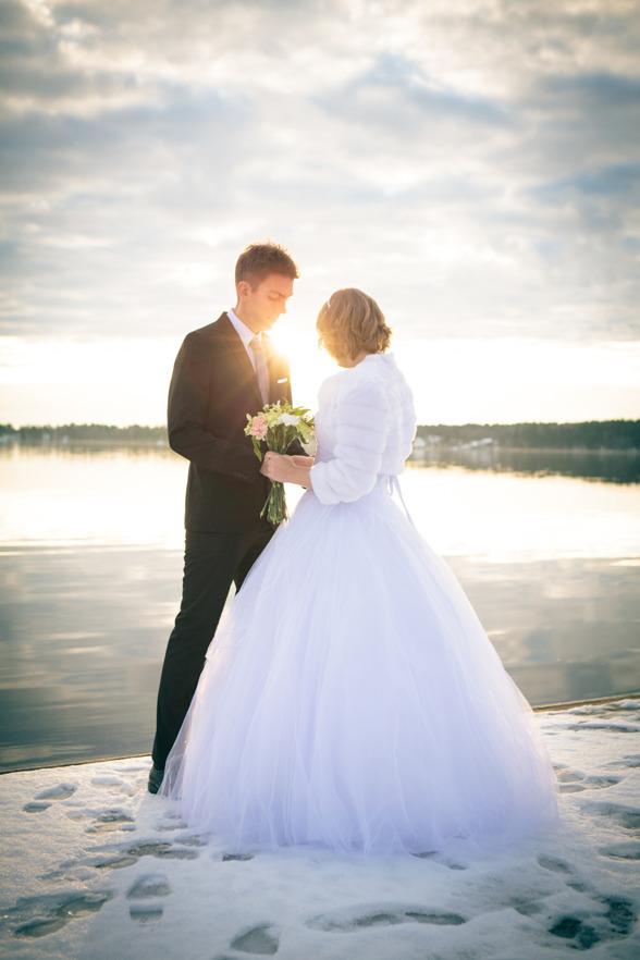 Nyårsbröllop. Foto: Daniel Gual, www.gual.se