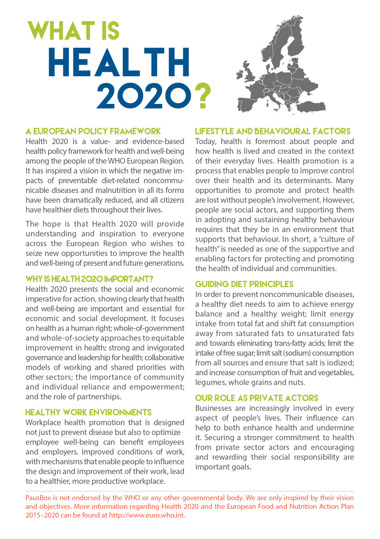 What is Health 2020?
