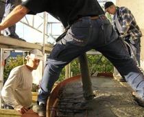 Diparts verksamhet bestod främst av balkongrenoveringar i början