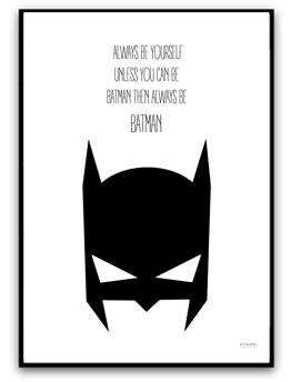 Batman - A4 220g matt fotopapper