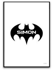 Batman med egen text
