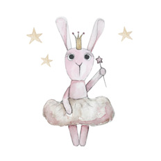 Wall stickers - Ballerina bunny