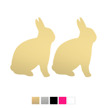 Wall stickers - Kaniner - Guld