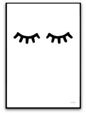 Poster - Sleepy eyes