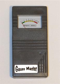 Gauss Master EMF mätare