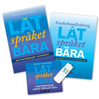 Låt språket bära: PAKET Bok + Studiehandledning + USB - Låt språket bära: PAKET Bok + Studiehandledning + USB