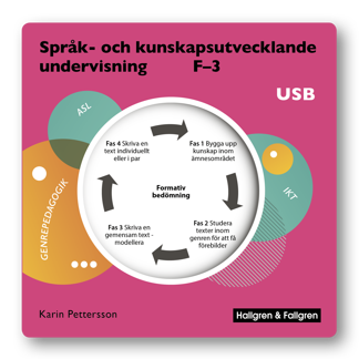Språk- och kunskapsutvecklande undervisning – Arbetsmaterial på USB - Språk- och kunskapsutvecklande undervisning – Arbetsmaterial på USB