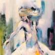GICLEÉ WOMEN - Girl on Fire A2 format, bildytan 35x46cm. Upplaga 10st