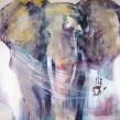 GICLÉE ELEPHANTS - Rör inte min kompis A4
