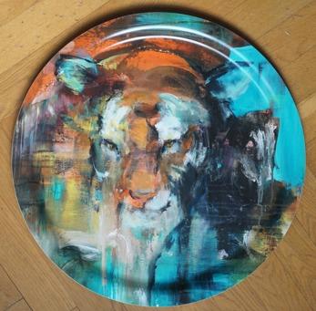 Runda brickor - Tiger 49cm
