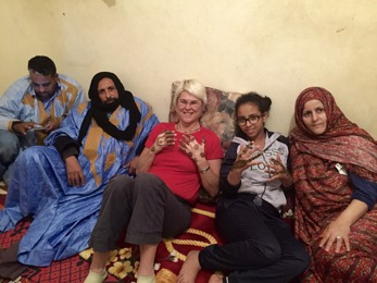 Marockoresan kan ordna att så du får bo i en marockansk familj.