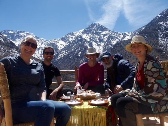 Marockoresan tar dig på härliga vandringar i Atlasbergen. Här nära  Imlil.