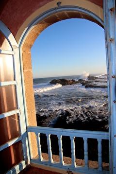 Riktig havsutsikt. Marockoresans favoritriad i Essaouira.