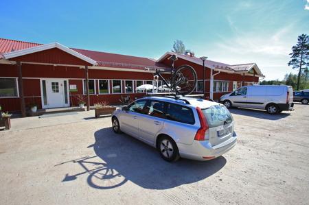 Valbergsängens Sporthotell och restaurang.