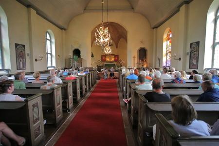 Allsköns Musik i Blomskogs kyrka 2014.