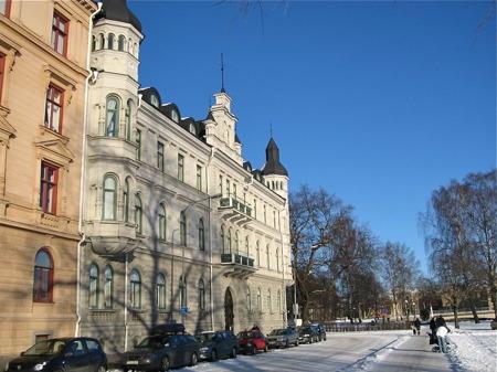 Sockerslottet i stadsdelen Klara.