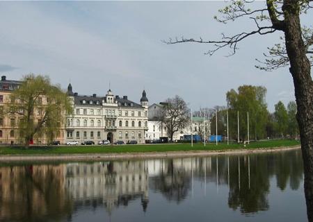 Stadsdelen Klara med fastigheten Sockerslottet.