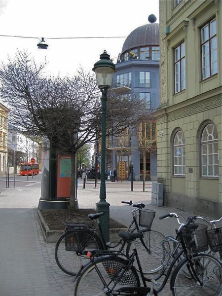 Karlstad - cykelvänliga staden.