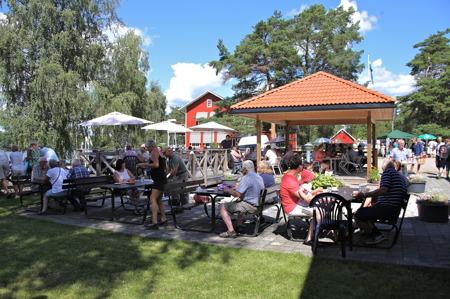 Strömsborgs café och restaurang.