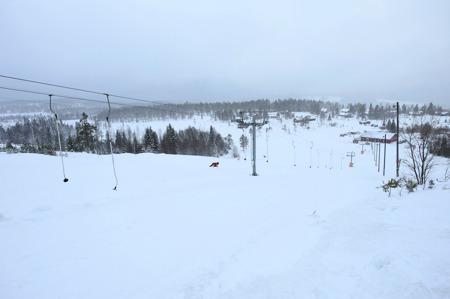 Februari 2015 - slalombacken och skidstadion.