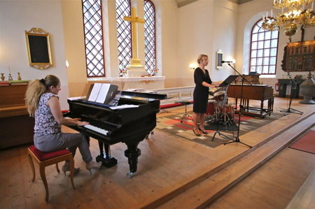 Allsköns Musik i Västra Fågelviks kyrka.