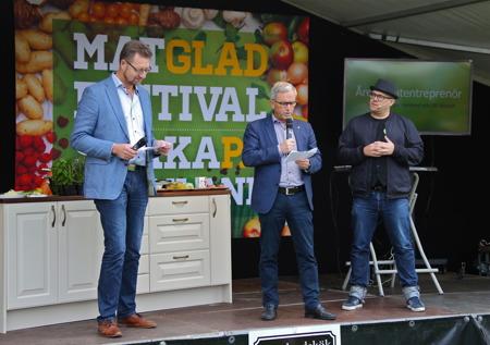 """Så var det dags att offentliggöra vem som tilldelas priset """" Årets matentreprenör i Värmland 2016 """"."""