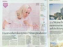 Interview in Sydsvenskan 2015
