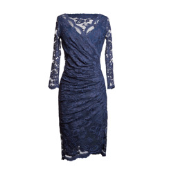 Olvis' Lace Dress | Navy  (Please contact boutique to order)