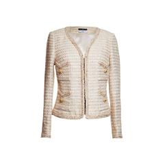 Maruschka de Margò Bouclé Tweed | Creme & Gold