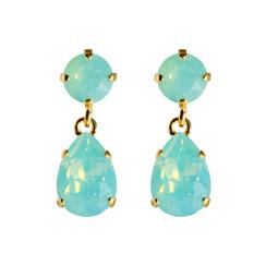 Caroline Svedbom Mini Drop Earrings | Turquoise Opal